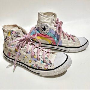 Converse Unicorn Rainbow Chuck Taylor Hi Tops